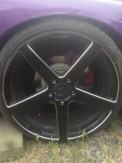 20 inch lenso rims and tyres