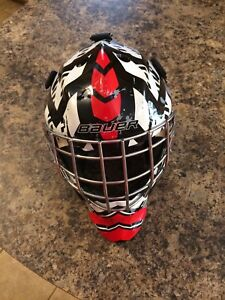 Youth goalie hockey helmet