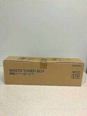 Konica Minolta A0dt-wy0 Genuine Waste Container Box Free Shipping