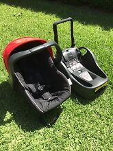 Steelcraft Infant Carrier/car capsule - Red - AS NEW Glenwood Blacktown Area Preview