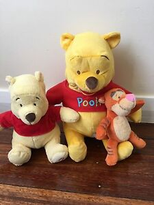Winnie the Pooh toys Port Kembla Wollongong Area Preview