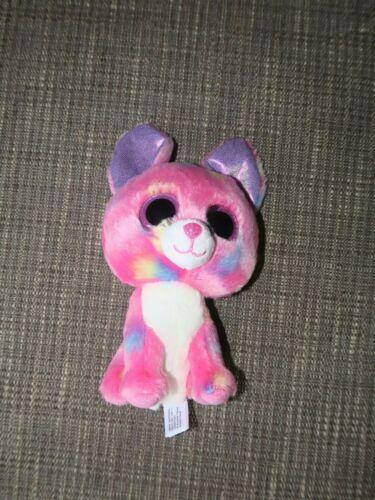 "Ty Beanie Boos CANCUN the CHIHUAHUA 6"" Beanbag Plush Stuffed Toy w/ Glitter Eyes"