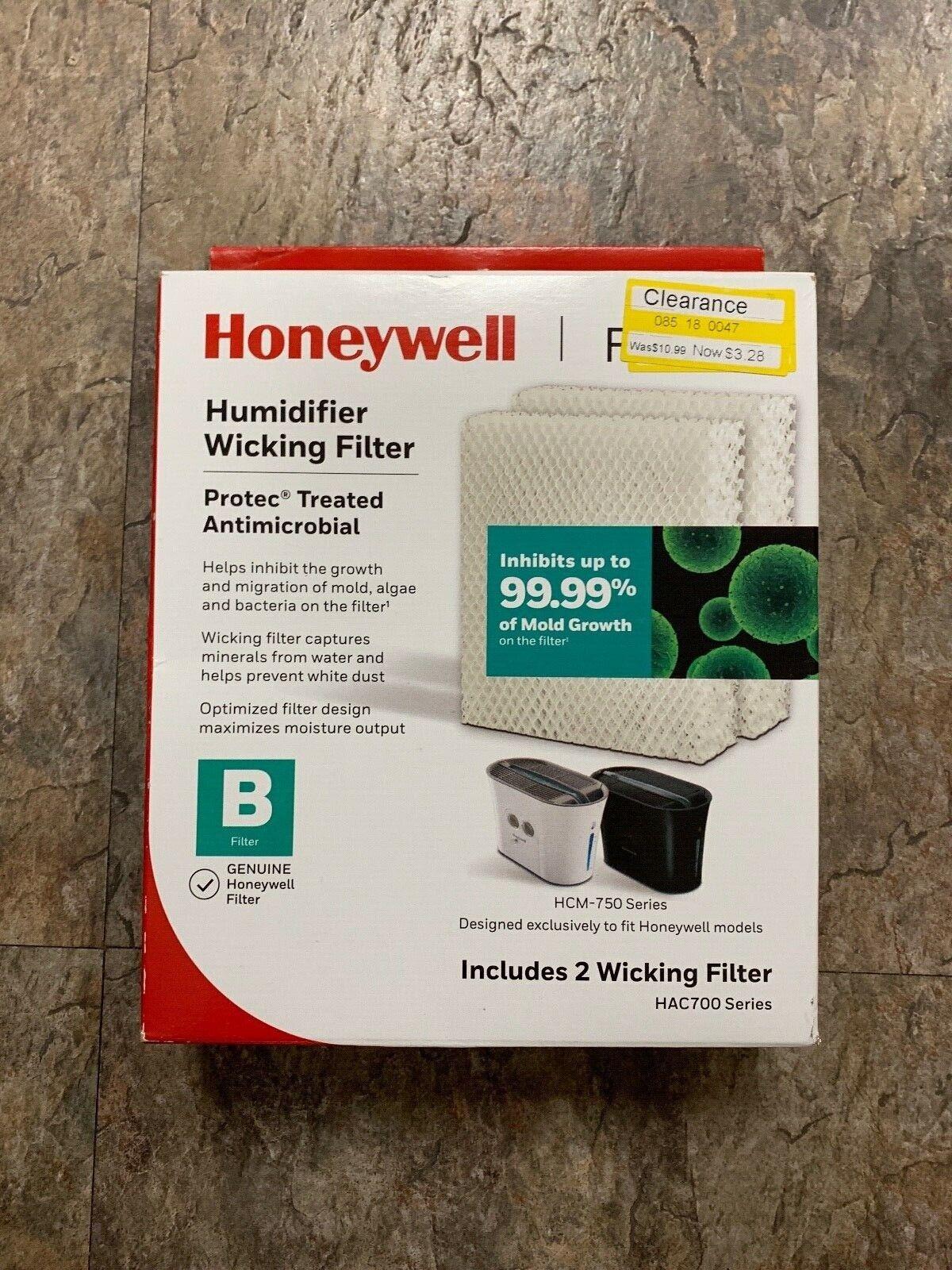 Honeywell Humidifier Filter B Model HAC-700NTG HCM-750 Serie