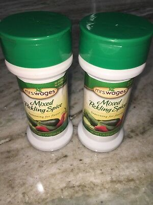 Mixed Pickling Spices - 2 Mrs. Wages Mixed Pickling Spices 1.75 oz each Spice