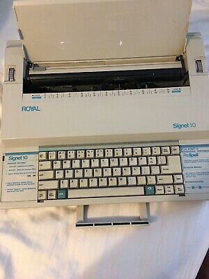 Royal Signet 10 Electric Typewriter