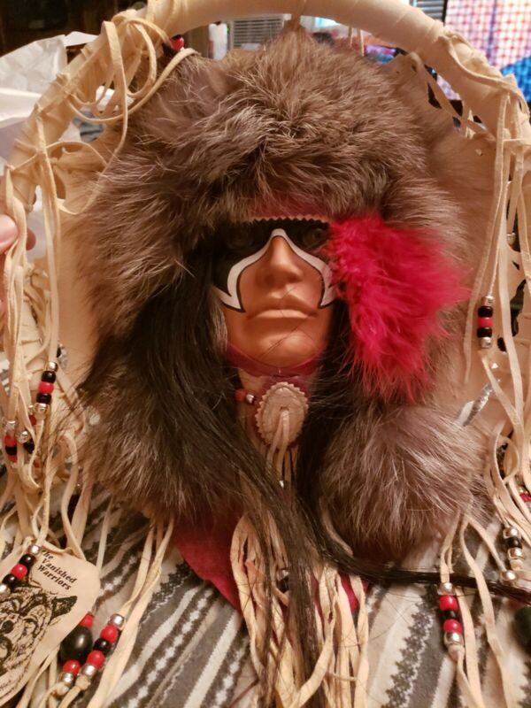 The Vanished Warrior, The North American Plains Indian Vintage Dream Catcher. SF