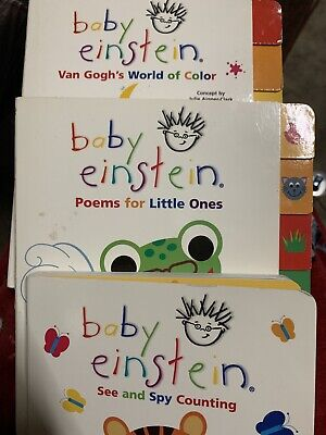 Baby Einstein Book Lot