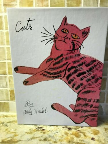 CATS BY ANDY WARHOL BLANK GREETING CARDS BOX 1993 SAM