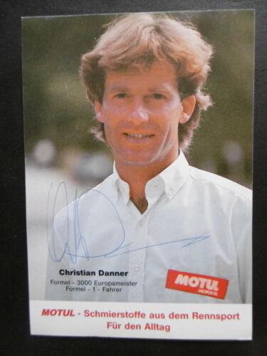 Christian Danner Autogramm signed 10x15 cm Postkarte