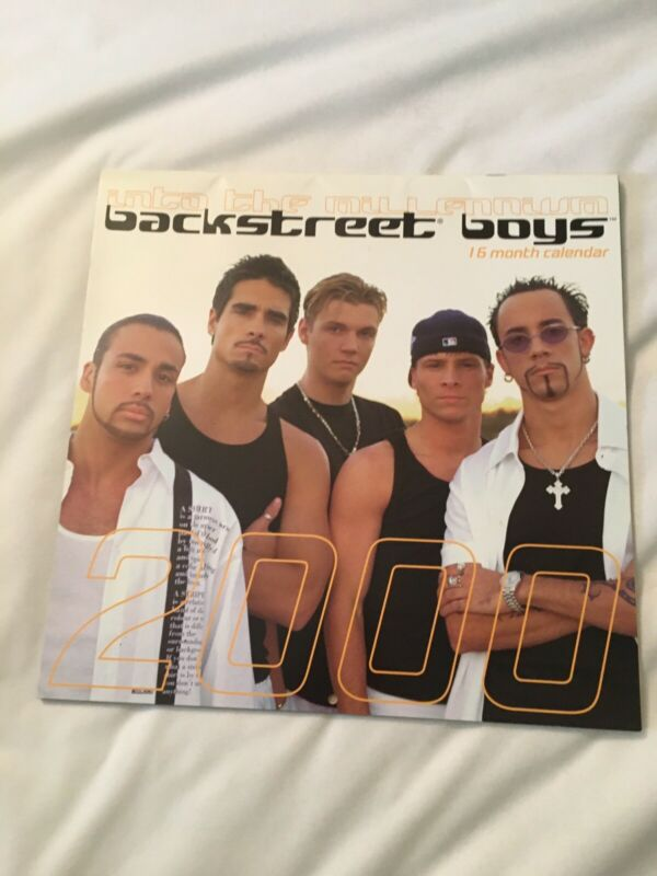Backstreet Boys 2000 16-Month Calendar Vintage