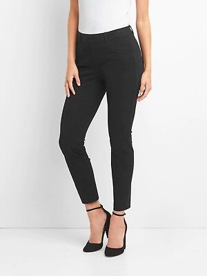 Gap Women's Curvy Skinny Ankle Pants Size 6- Black- NWOT