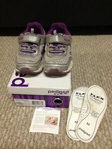 Girls Size 12-12.5 - Pediped Flex Fit System Shoes