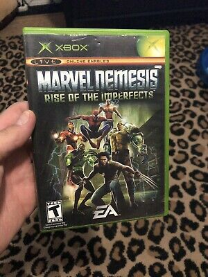 Marvel Nemesis: Rise of the Imperfects Xbox Video Game (Microsoft Xbox,