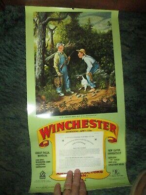 Winchester Arms Collectors Association 1996 Calendar