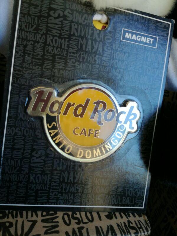 Hard Rock Cafe Santo Domingo Logo Magnet