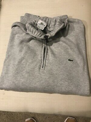 Lacoste Mens Sweater Size 9