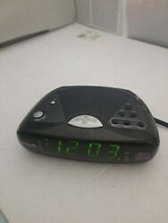 RCA Dual Alarm Clock Radio RP4842A Bell Nap Snooze AM FM
