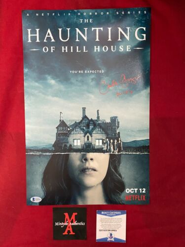 CARLA GUGINO AUTOGRAPHED SIGNED 11x17 PHOTO! THE HAUNTING OF HILL HOUSE! BECKETT