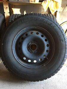 4 Jeep Liberty snow tires