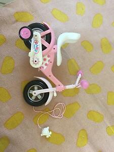 Baby born bicycle baby doll toys Currimundi Caloundra Area Preview