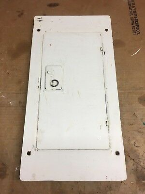 Zinsco ML12(12-24) Electric Panel Cover Sylvania GTE 125 amp 240 volt