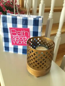 Bath&Body Works candle holder set