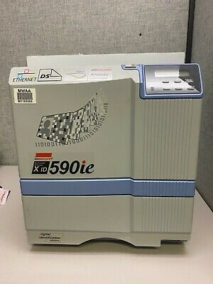 Edisecure Xid 590ie Id Card Printer 24854 Page Count
