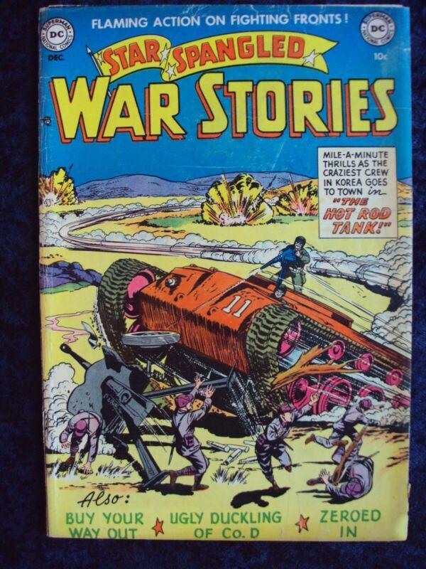 STAR SPANGLED WAR STORIES #4 1952 DC WAR GOLDEN AGE COMIC