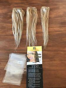 X 12 Inch Clip On 100% Human Hair Extensions Glen Iris Boroondara Area Preview
