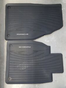 Porsche - Tapis 4 saisons/All-weather floor mats