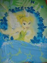 Tinkerbell Single Bed Doona cover & pillowcase Duncraig Joondalup Area Preview
