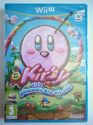 Kirby Et Le Pinceau Arc En Ciel Jeu Vidéo Nintendo Wii U