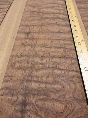 Waterfall Bubinga Figured Kewazinga Wood Veneer 6 X 29 With Wood Backer 125