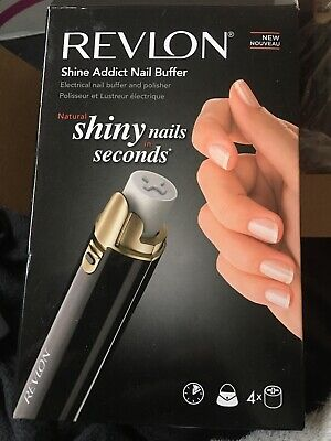 Revllon Shine Addict Nail Buffer, used for sale  Shipping to Nigeria