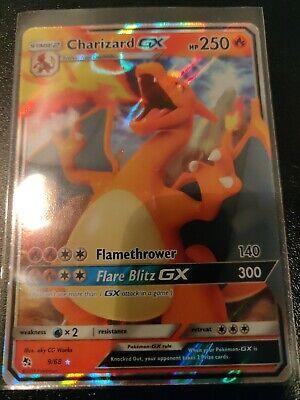 Charizard GX 9/68 Hidden Fates ULTRA RARE Pokemon Card NEAR MINT
