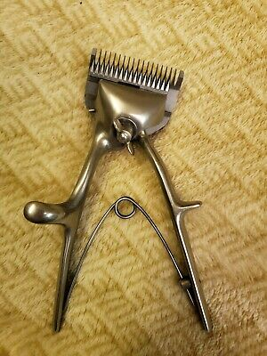Oyster》Antique 50's• Animal Hair Clipper•Rare! Brand New, Mint Cond!WOW!