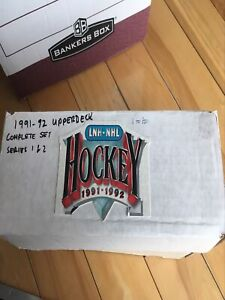 Upperdeck 91-92 complete serie 1 and 2