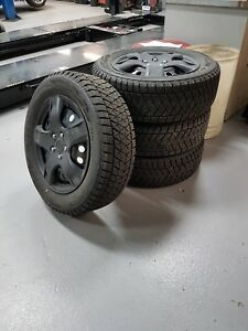 Honda CR-V Snow tires Bridgestone DM-V2 Blizzard