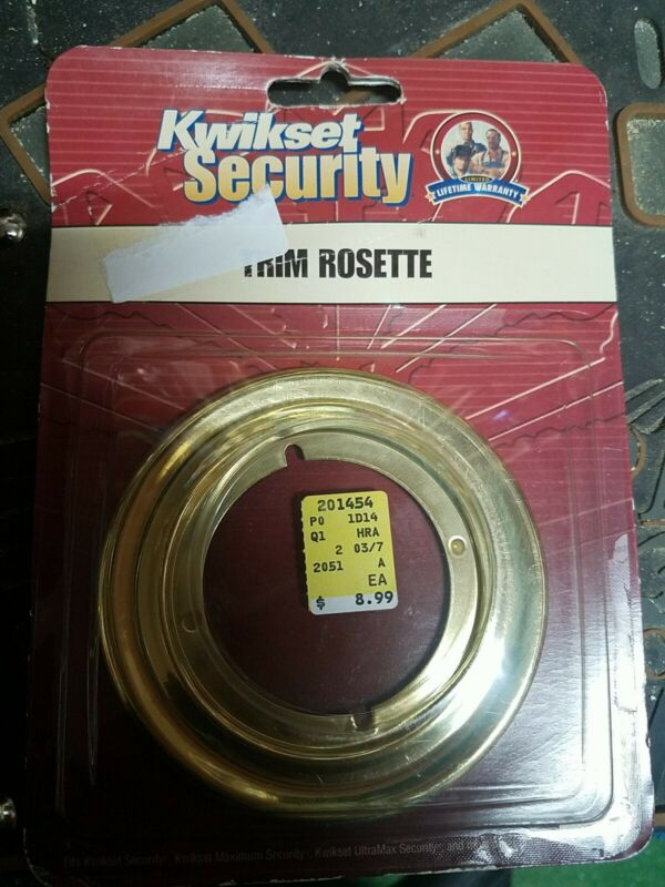 Kwikset Security Trim Rosette