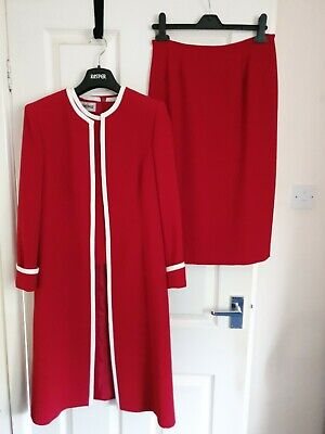 Used ladies Kasper suit size 6 (size 10)