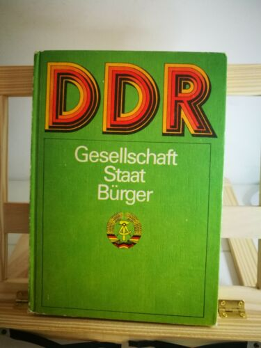 Original DDR GDR Communist East Germany Propaganda Book Government Issued 1970s