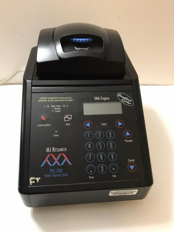 MJ Research PTC-200 PCR Gradient DNA Engine Thermal Cycler