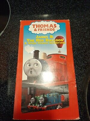 Thomas & Friends James & The Red Balloon & Other Thomas Adventures Vhs
