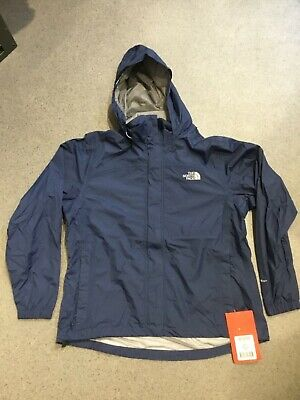 The North Face Resolve jacket women's Deep Water Blue BNWT