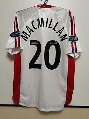 Inverness Caledonian Thistle 2003-2004 Away Football Shirt Craig MacMilan #20 image