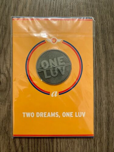 Southwest Airlines/AirTran Airways Merger One Luv Commemorative Coin