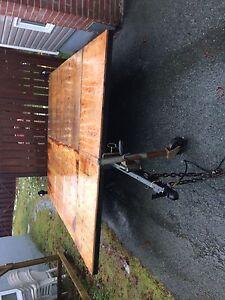 8'x10' tilt utility trailer