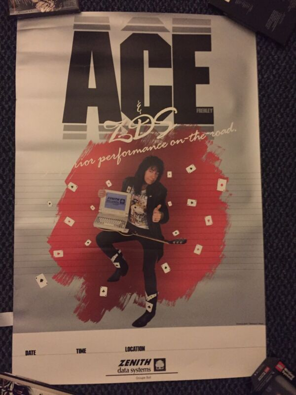 Ace Frehley Zenith Show Poster