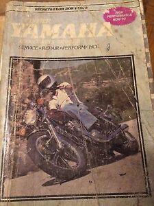 1970-1978 Yamaha XS 650 Service Manual