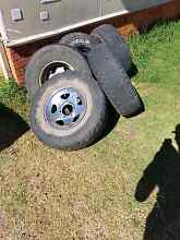 4x4 hilux  wheel and tryes Inverell Inverell Area Preview